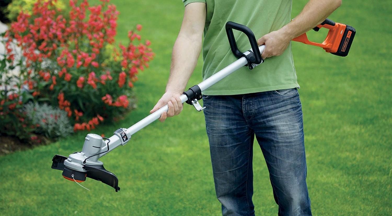 как выбрать триммер садовый электрический аккумуляторный ручной