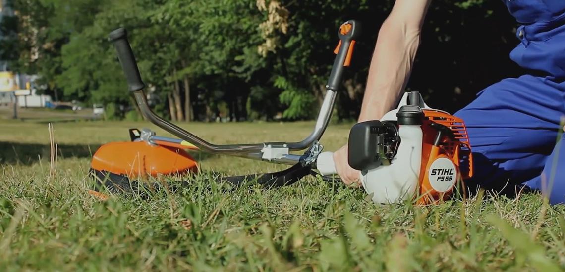 триммер для травы заводится и глохнет