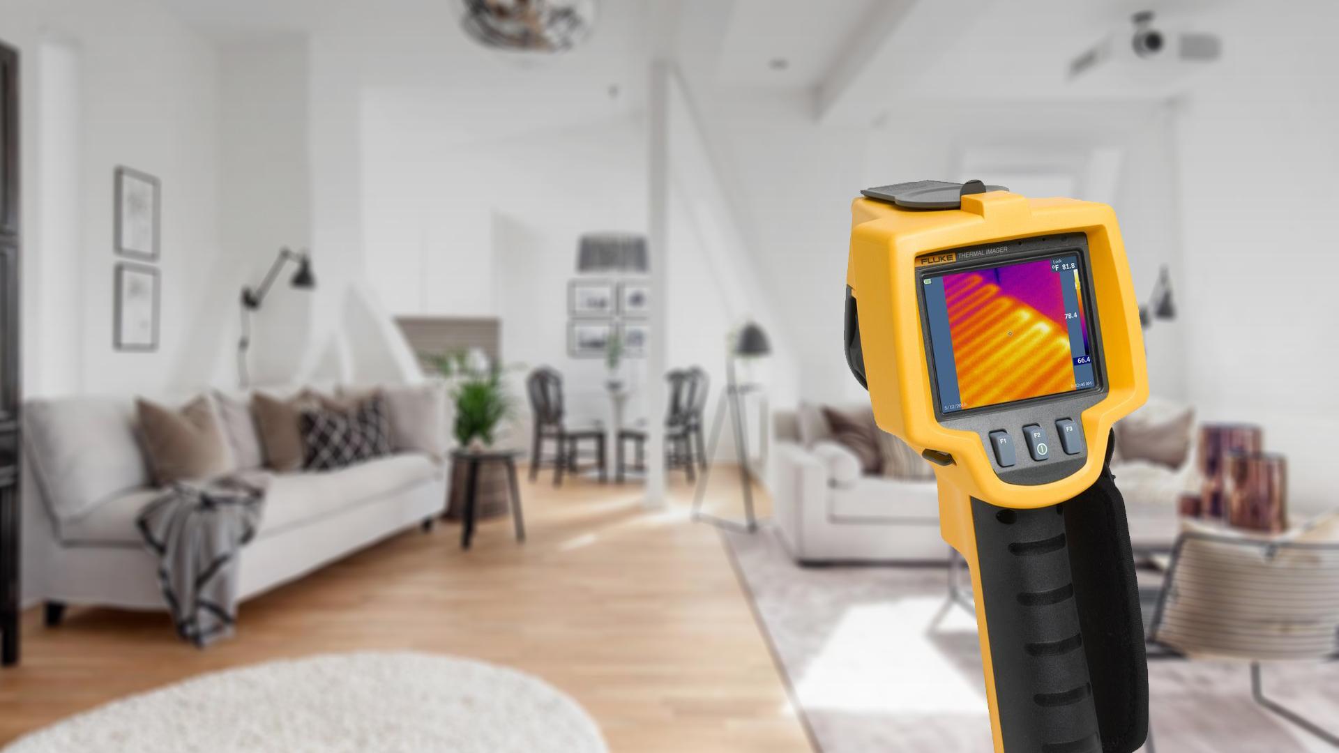 Тепловизор для строительства виды и правила проведения проверки дома