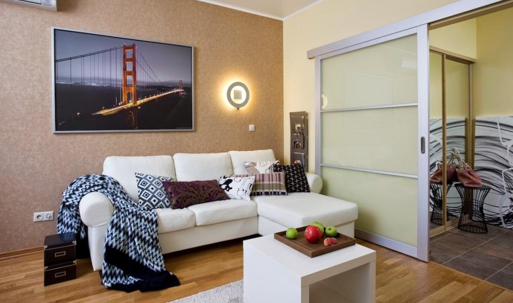 что, если как отделать однокомнатную квартиру фото широкой подвеске, это