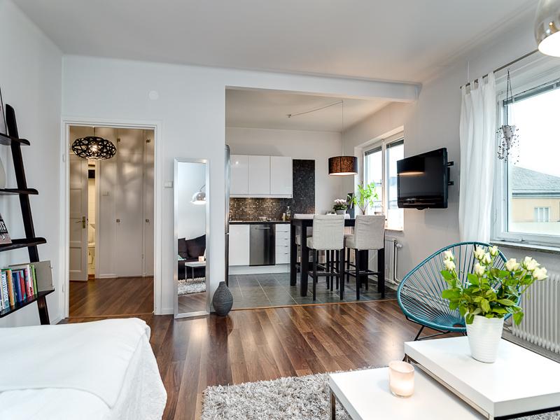 Минимальная площадь комнаты в однокомнатной квартире
