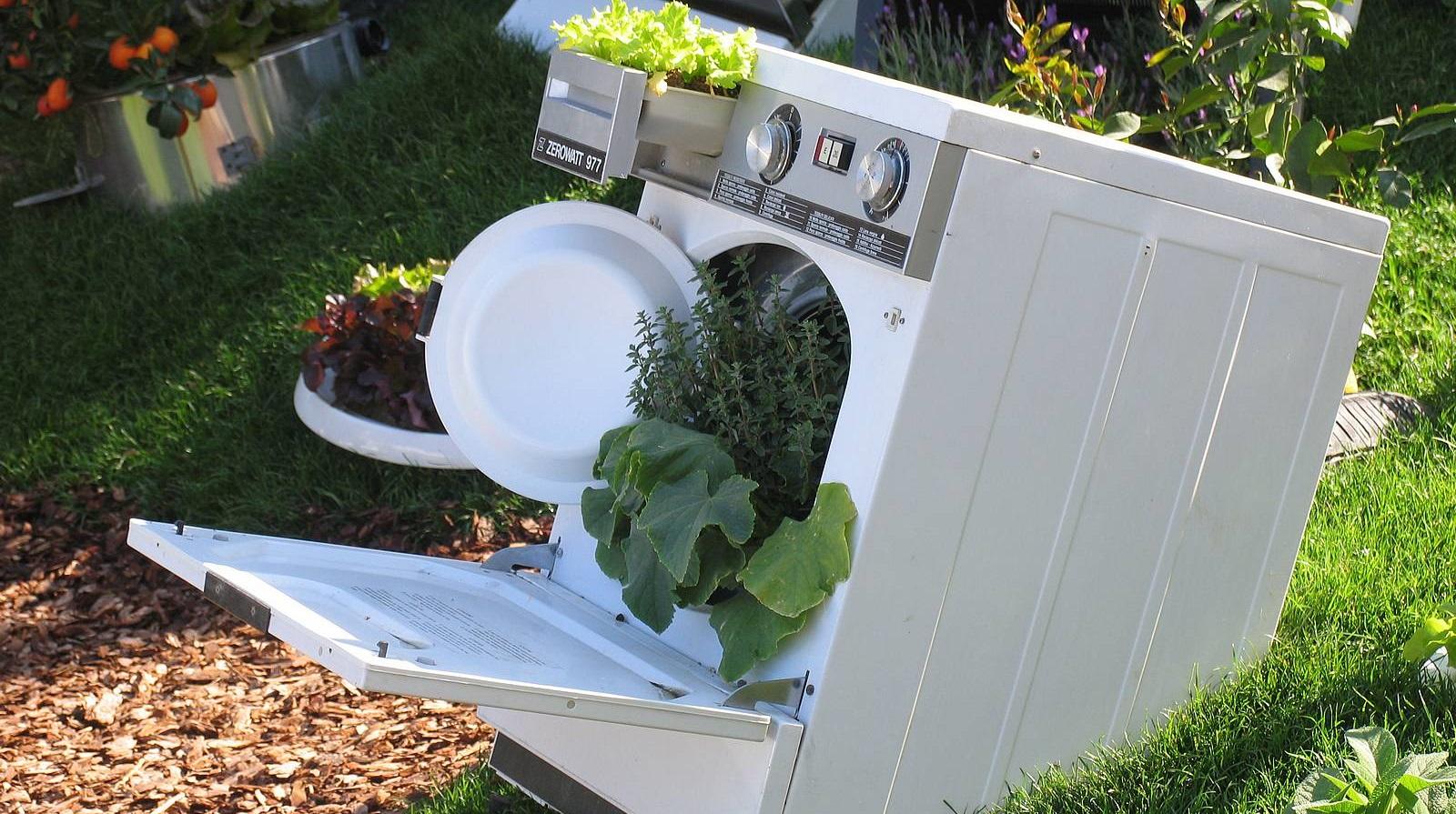 Как использовать старую стиральную машину