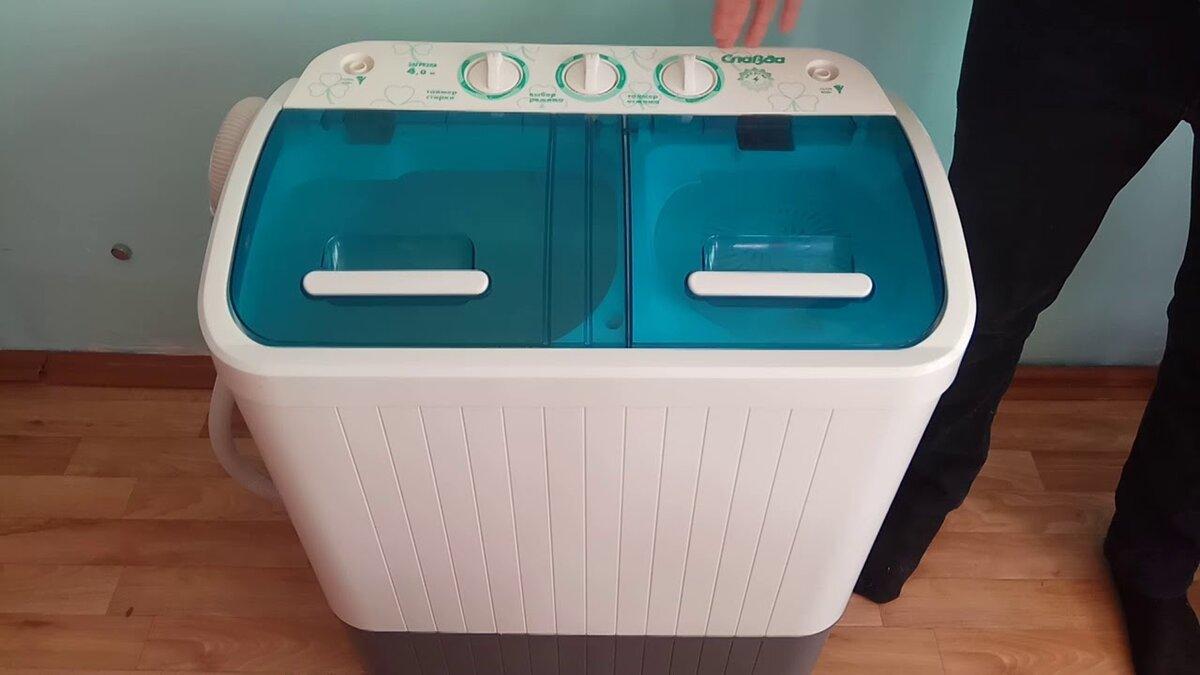 Преимущества стиральных машин полуавтомат с отжимом, полосканием и сливом