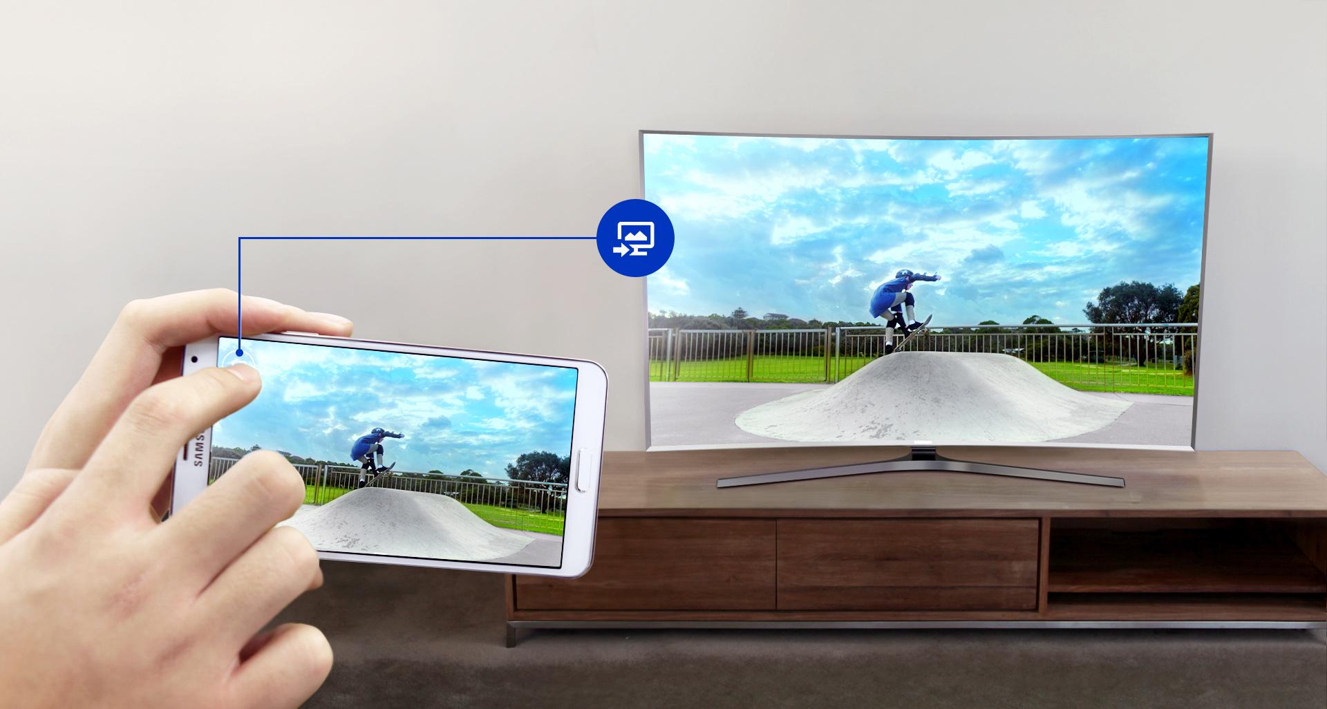 Как показывать фото на телевизоре через телефон