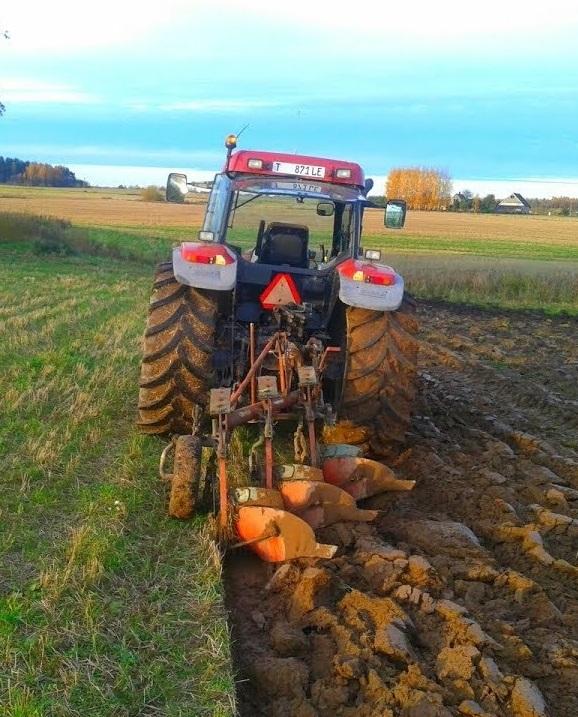 Система основной зяблевой обработки почвы