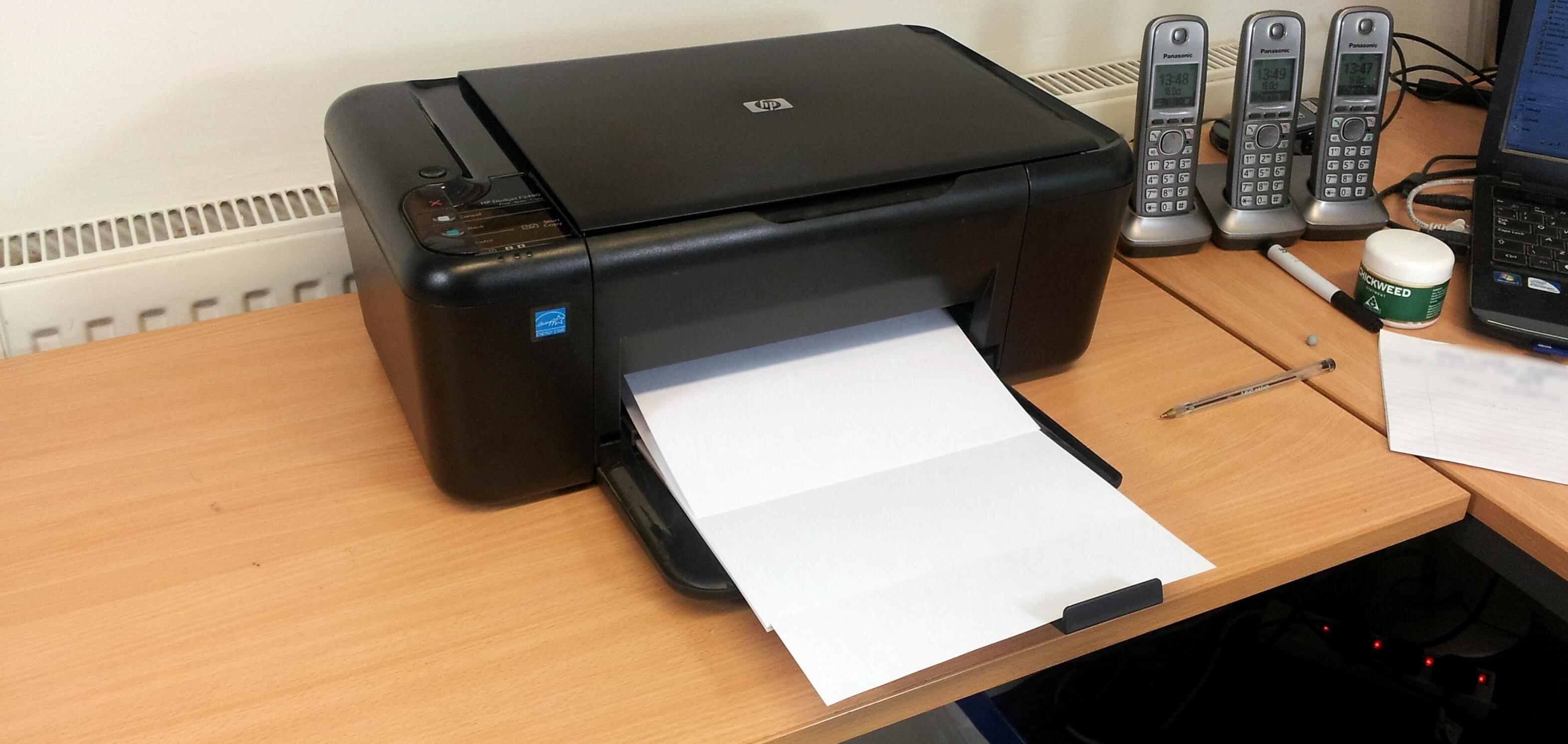 Принтер печатает темные картинки
