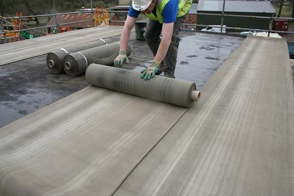 Рулонный бетон производство гравий бетон