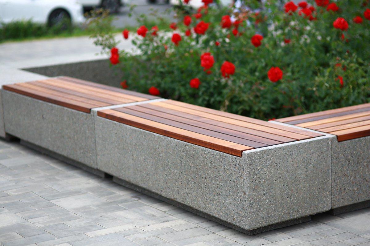 Скамейки бетон панели бетон