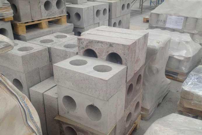 Огнеупор бетон бетон темный цвет
