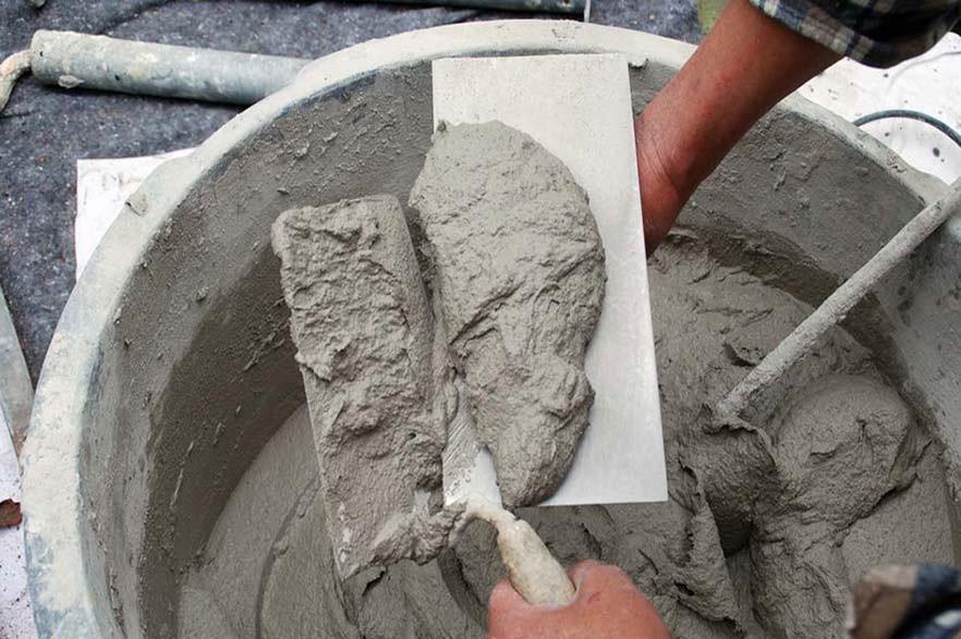 Фундамент из цементного раствора без щебня купить белый цемент м600 москва