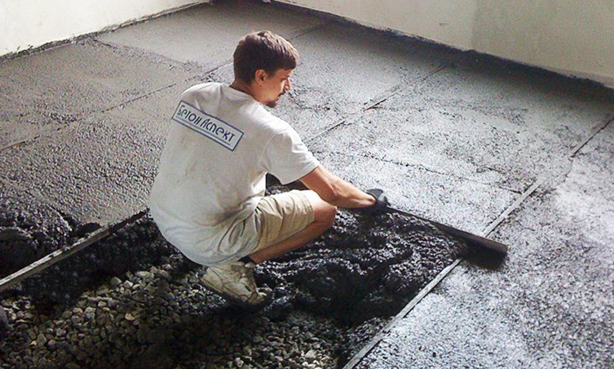 бетона без