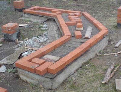 Фундамент для мангала