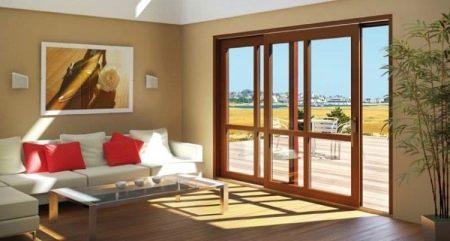 Металлопластиковые двери (47 фото): входные и межкомнатные изделия со стеклом для частного дома из металлопластика