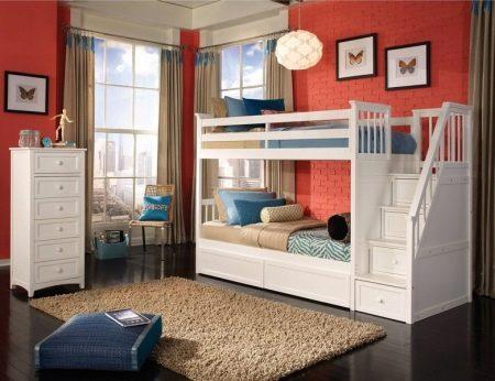 Двухъярусные кровати для подростков (43 фото): двухэтажные модели для мальчиков и девочек с диваном, металлические и угловые варианты