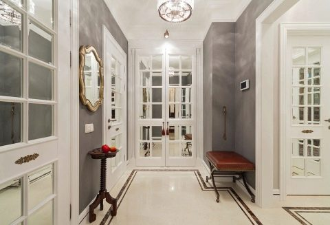 французские двери межкомнатные модели из франции в пол