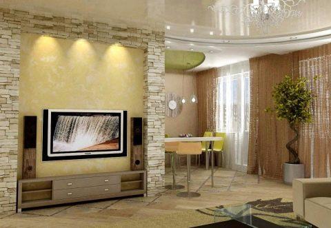 гостиная занимает наибольшую площадь в квартире какие банки дают кредит без проблем