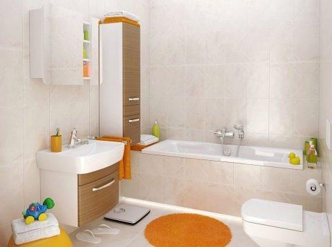 Шкафчик для ванной комнаты навесной, какие виды бывают и правила ... | 358x480