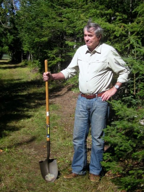 как правильно копать лопатой