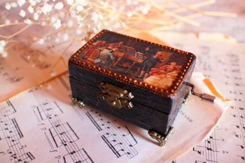 Музыкальные шкатулки (34 фото): механическая шкатулка Jakos со ...