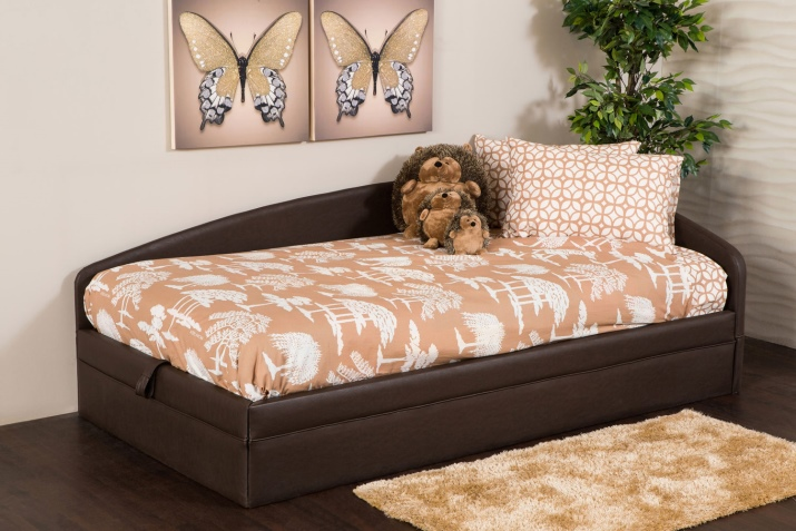 Кровать с подъемным механизмом дрим левый