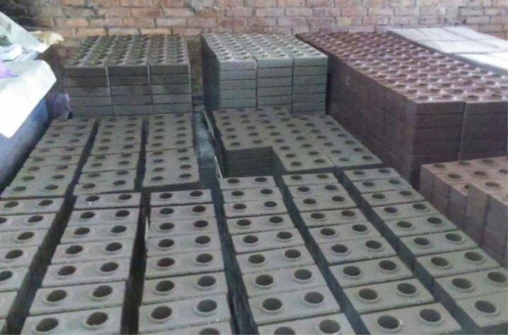 Место для производства лего кирпича