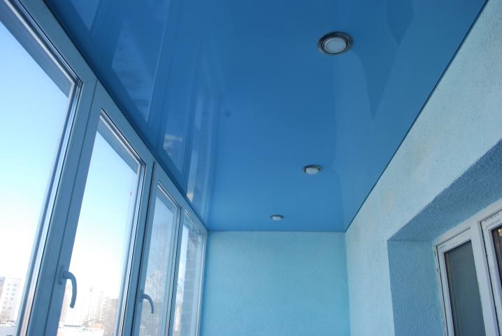 Потолки на балконе (37 фото): как сделать и из чего натяжные.