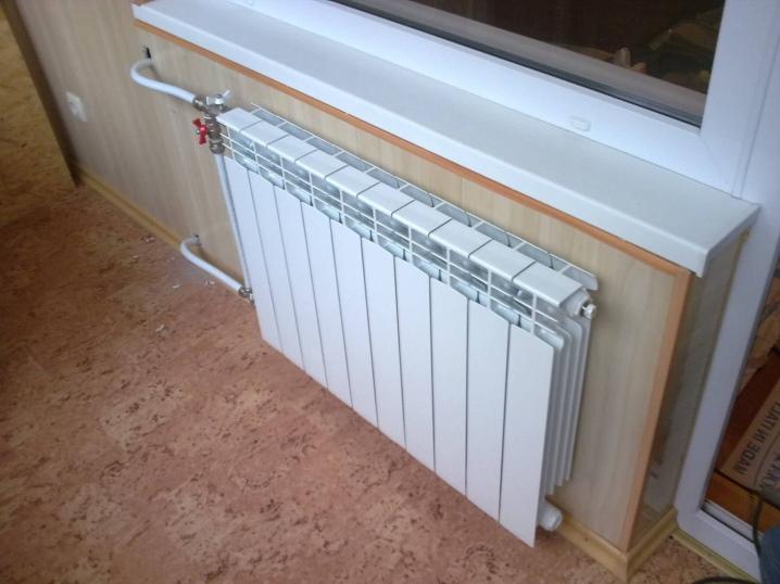 Отопление балкона