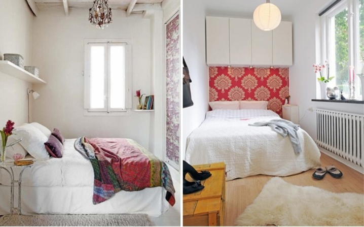 спальня 7 кв.м фото дизайн