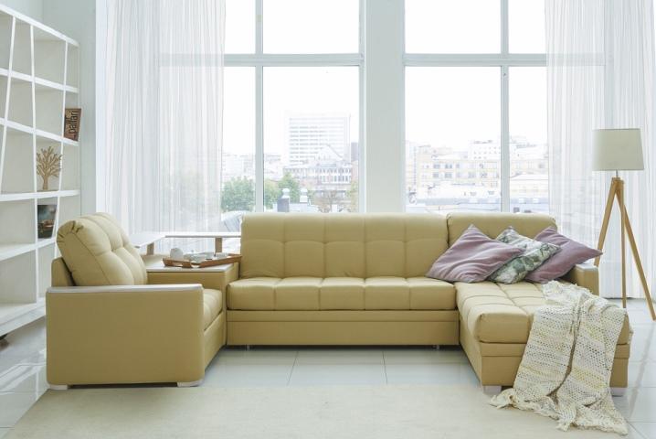 Угловые диваны с размерами фото