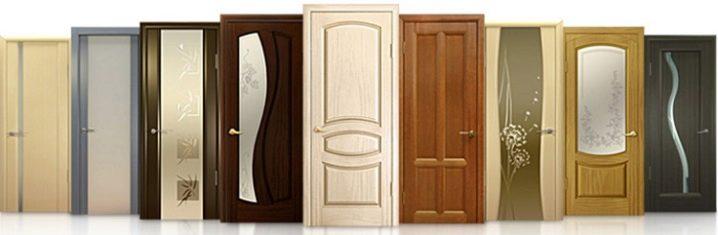 деревянные двери необычной конусообразной формы