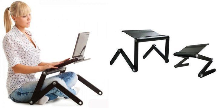 Складной стол для ноутбука малогабаритный раптор перкуссионный массажер