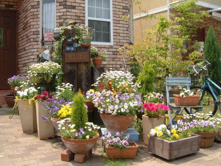 Уличные вазы для цветов своими руками из подручных материалов