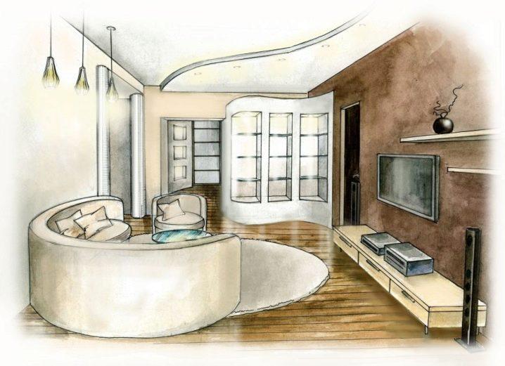 момент рисунки комнат в доме позже двоюродными троюродными