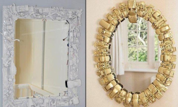 Рама для зеркала из плинтуса своими руками фото 22