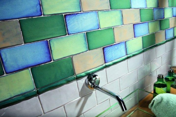 Цветными плитками типа кабанчик на цементном растворе купить станок для алмазного сверление бетона