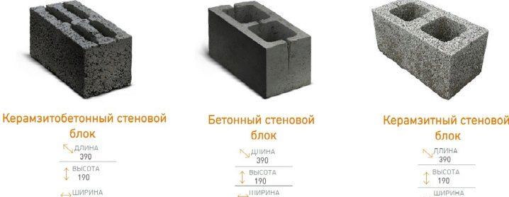керамзитобетонные блоки в кубе