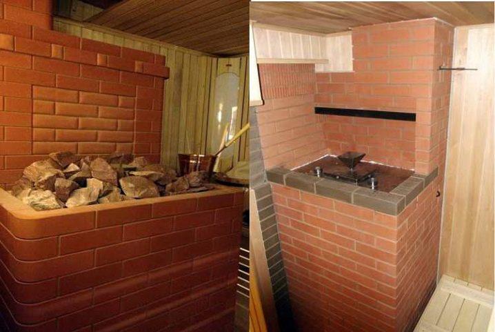 Создание печи из кирпича для бани