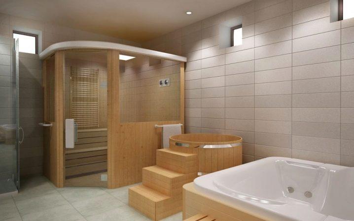 Устройство бани в доме