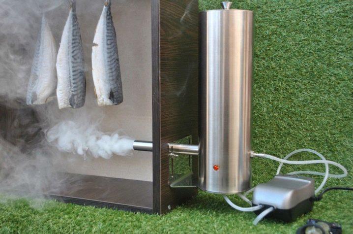 Пассивный дымогенератор для холодного копчения 170