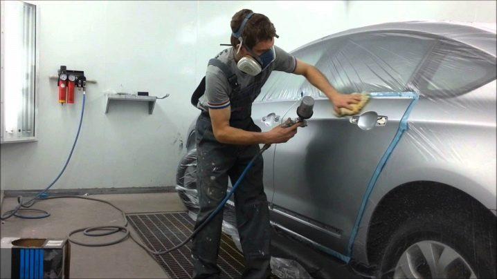 Технология покраски автомобиля своими руками в гараже 50