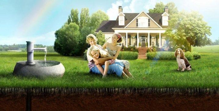 Скважина - обустройство, бетонирование, яма для обслуживания, видео