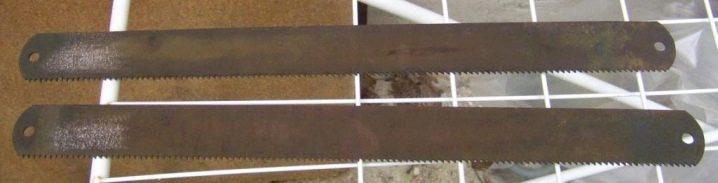 Хорошие полотна для ножовки по металлу