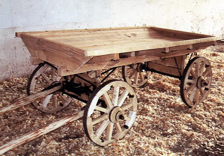 ГОСТ 1142-90 Повозки конные грузовые. Общие технические условия