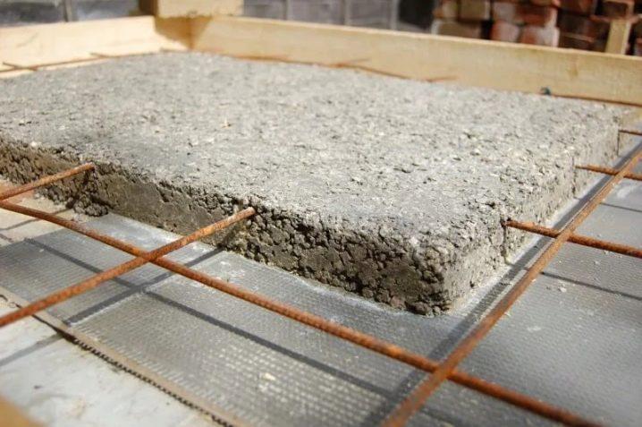 марка бетона для плиты перекрытия частного дома