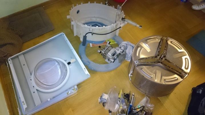 Что можно сделать из старой стиральной машины?