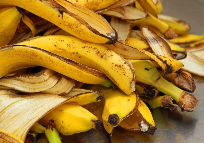 Настой кожуры банана для полива цветов
