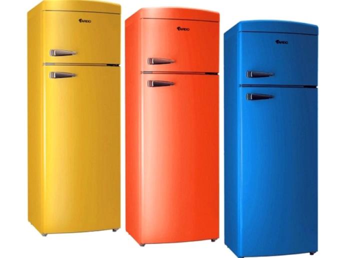 Холодильники в стиле ретро (41 фото): дизайн красных и черных мини- холодильников, бежевые, голубые и цветные варианты шириной 70 см, другие  модели в интерьере