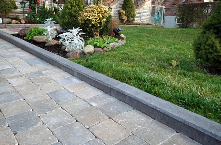 Декоративный садовый бордюр из бетона купить ванная комната бетон