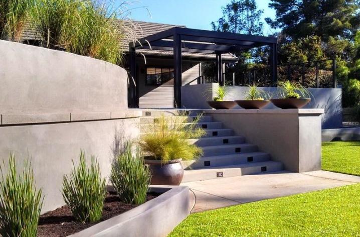 купить подпорную стенку из бетона