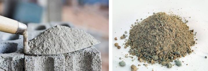 цементный раствор из шлака
